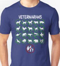 Veterinarians Don't Do Humans Unisex T-Shirt