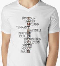 I am the Doctor Men's V-Neck T-Shirt