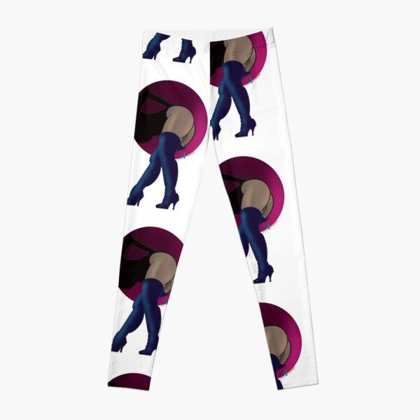 Purple Love Leggings