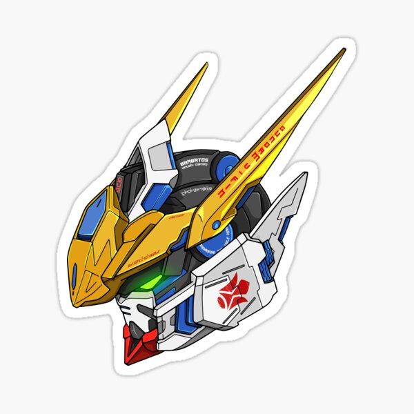 Gundam Barbatos ASW-G-08 Head (Original colors) Sticker