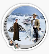 The 10.5th Day of the Doctor Jedi Sticker