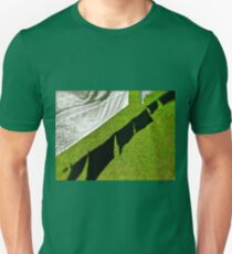 She left the suds in the bucket and the clothes hangin' out on the line... Unisex T-Shirt