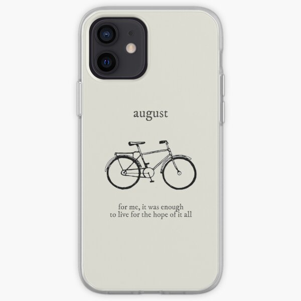 august iPhone Soft Case
