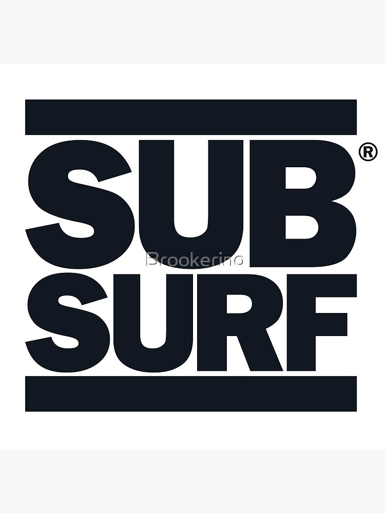 Sub Surf - Subway Surfers by Brookerino