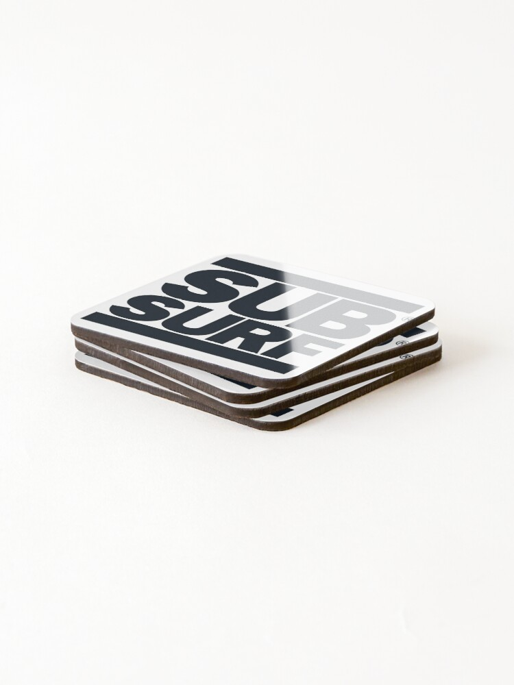 Alternate view of Sub Surf - Subway Surfers Coasters (Set of 4)