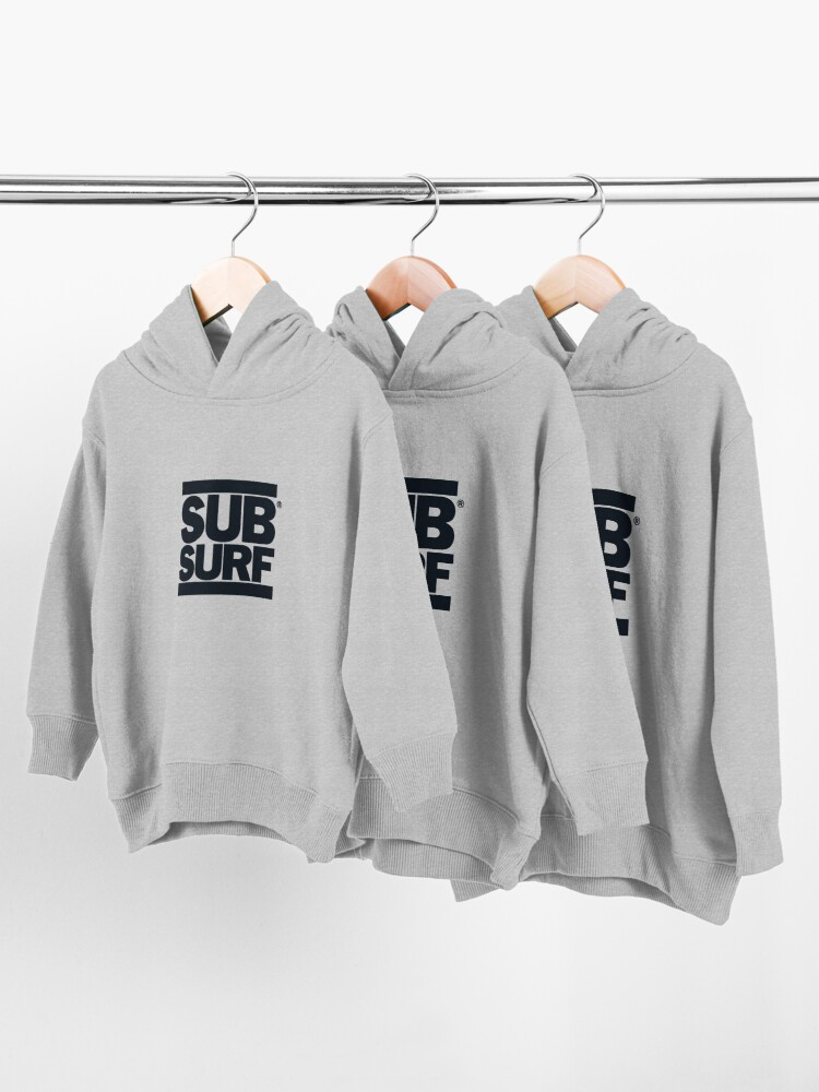 Alternate view of Sub Surf - Subway Surfers Toddler Pullover Hoodie