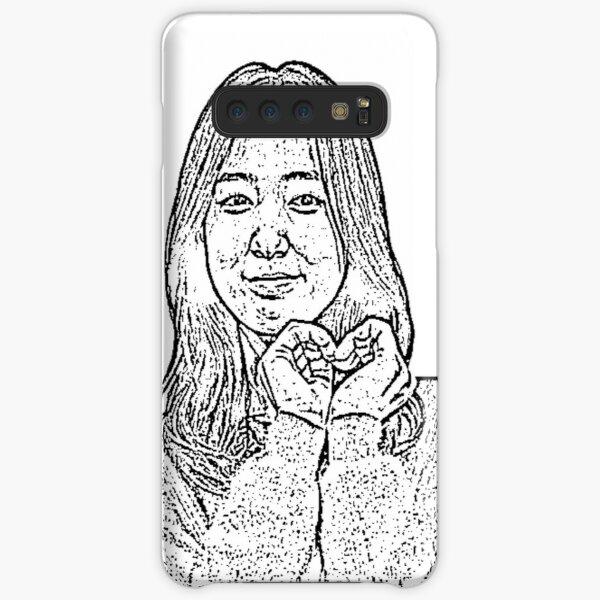 Park Shin Hye Hand Heart Samsung Galaxy Snap Case