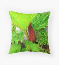 The Plant Life Of West Donegal Throw Pillow