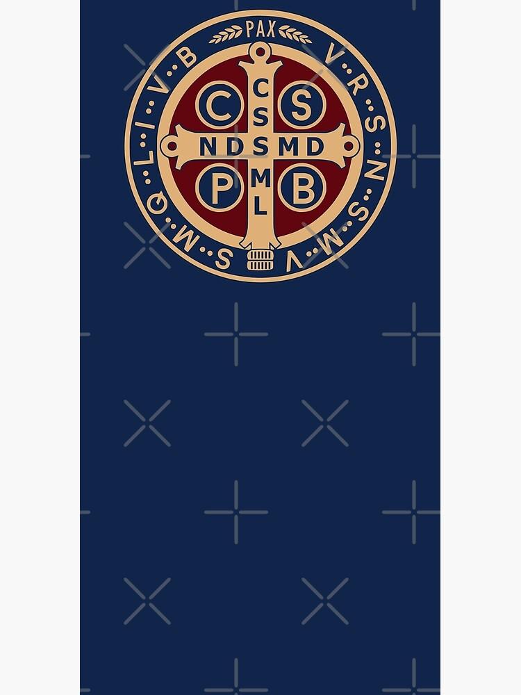 Saint Benedict Medal by Beltschazar