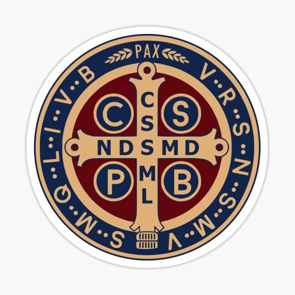 Saint Benedict Medal Sticker