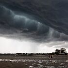 Menacing Tempest - Victoria Point Qld Australia by Beth  Wode