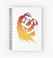 Twilight dark fantasy 8 Spiral Notebook