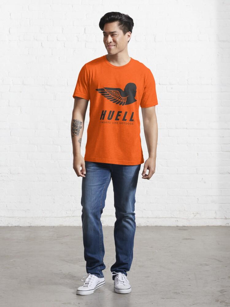 Alternate view of Huell: Fingers Like Hotdogs Essential T-Shirt