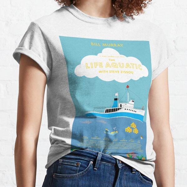The Life Aquatic with Steve Zissou Poster Classic T-Shirt