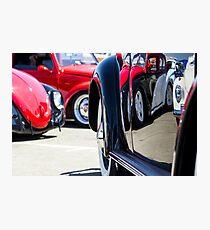 VW Beetles and Reflections Bugorama 69 Photographic Print