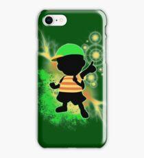 Super Smash Bros. Green Ness Silhouette iPhone Case/Skin