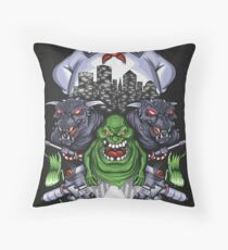 Who You Gonna Call? - Print Throw Pillow