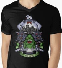 Who You Gonna Call? Men's V-Neck T-Shirt