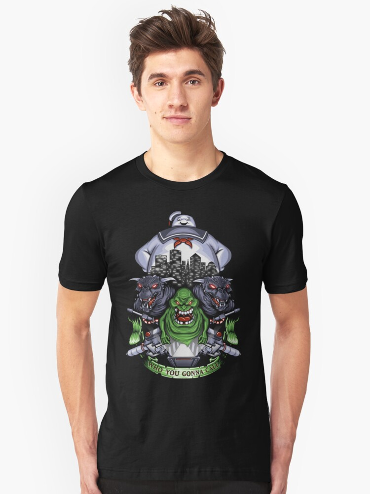 Who You Gonna Call? Unisex T-Shirt Front