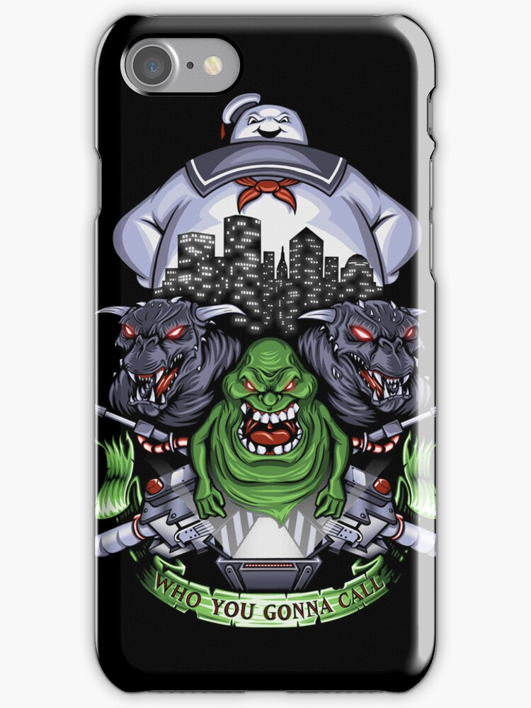 Who You Gonna Call? - Iphone Case #2 by TrulyEpic