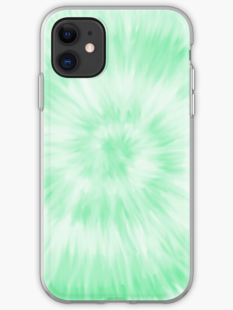 Green Tie Dye Wallpaper Iphone Case Cover By Pastel Paletted Redbubble