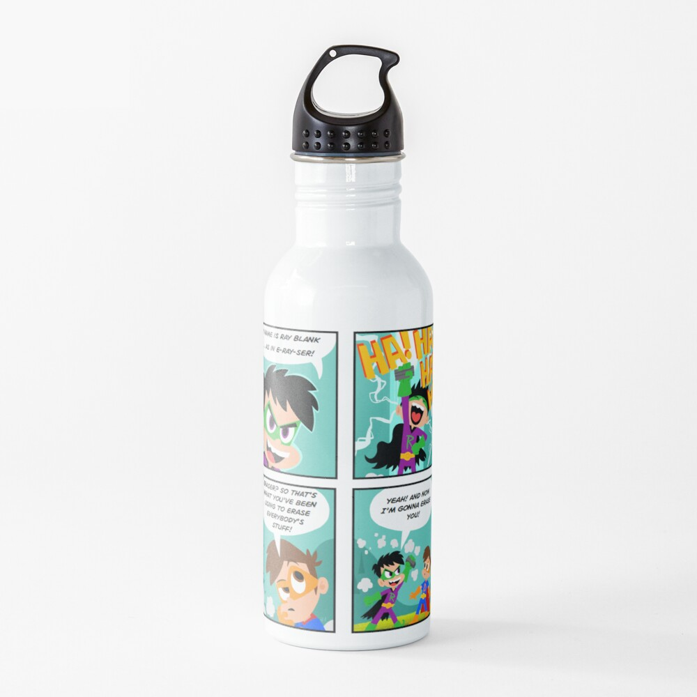 Drew Pendous Comic Cool School Water Bottle