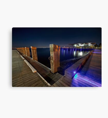 www.LyndenSmith.com - Geelong Waterfront Canvas Print