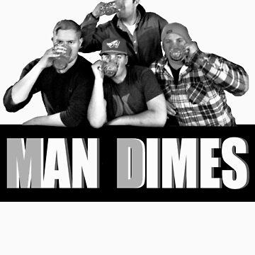 Man Dimes by DirtyBird