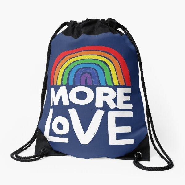 more love Drawstring Bag