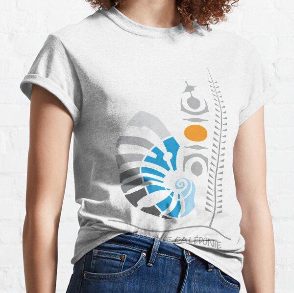 Emblème de la Nouvelle-Calédonie - Coat of Arms - Polynésie T-shirt classique