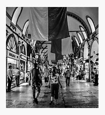 Inside The Grand Bazaar Photographic Print