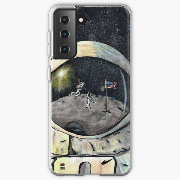 Space Jam Funda blanda para Samsung Galaxy