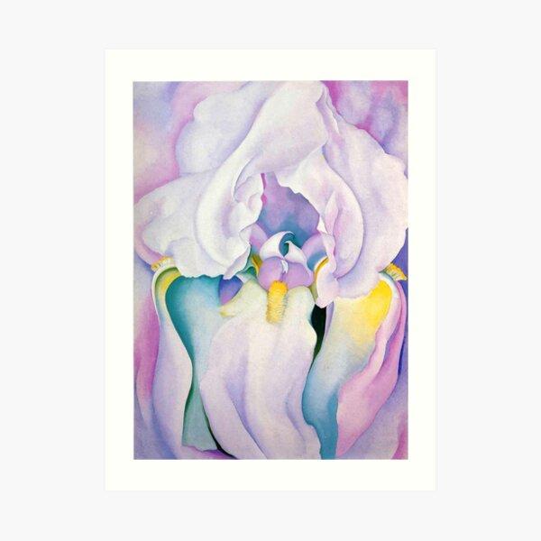 Light of Iris (1924) by Georgia O'Keeffe Art Print