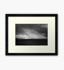 Clouds, West Kirby, England Framed Print