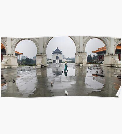 Chiang Kai-Shek Memorial Hall - Taiwan Poster