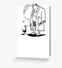 THOSE F'IN DUCKS Greeting Card