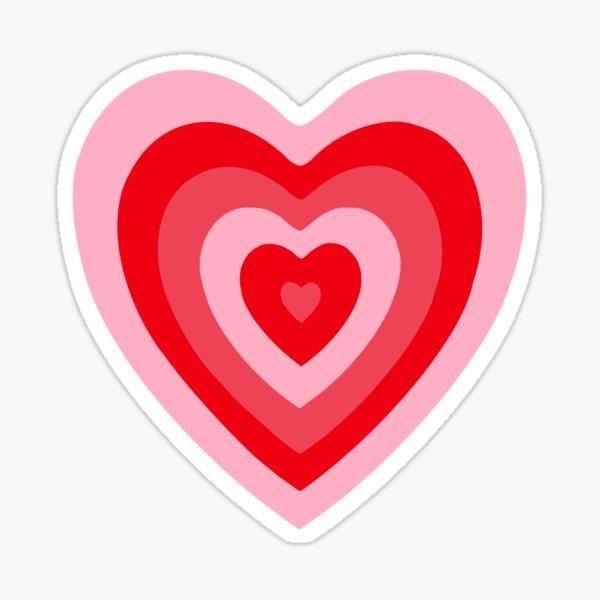 Retro Heart Sticker