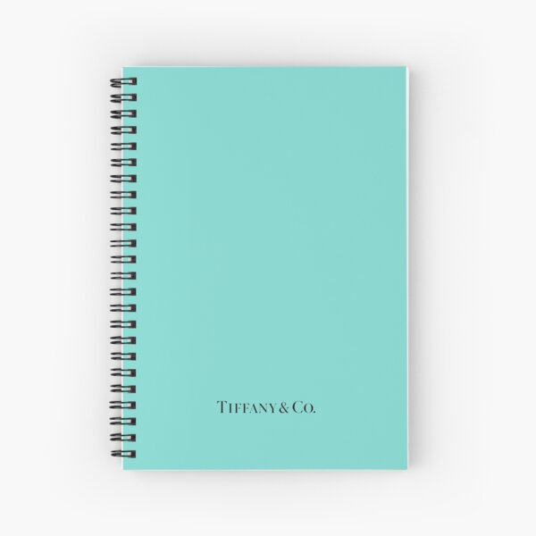 Tiffany Blue w/ Logo  Spiral Notebook