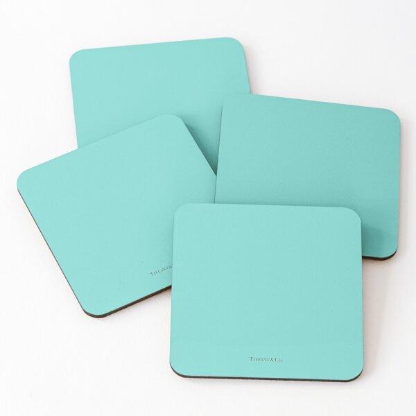 Tiffany Blue w/ Logo  Coasters (Set of 4)