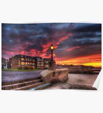 Ryde Esplanade Sunset Poster