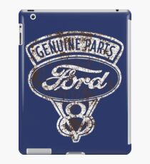 Oil Stained Ford Sign iPad Case/Skin
