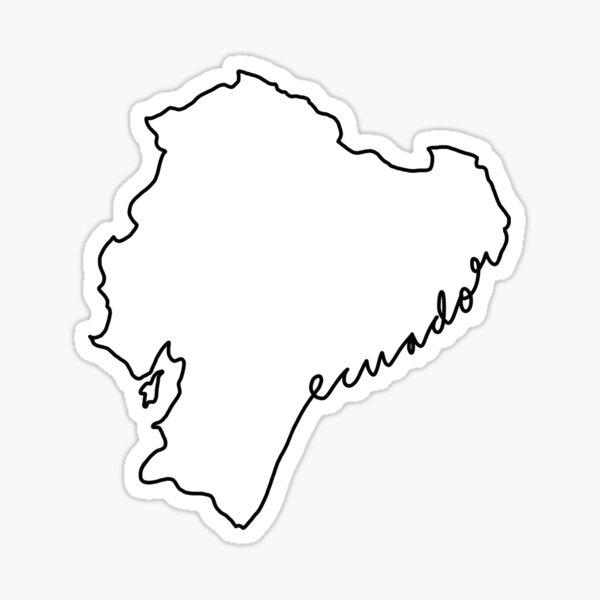 Ecuador Pegatina