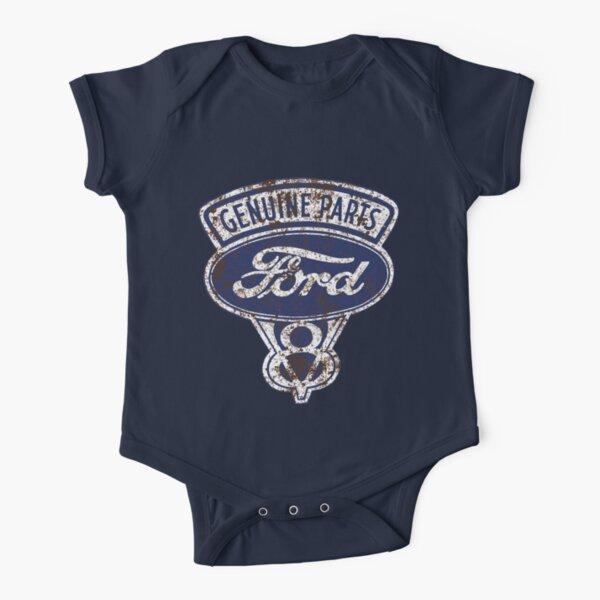 Signe de Ford taché d'huile Body manches courtes