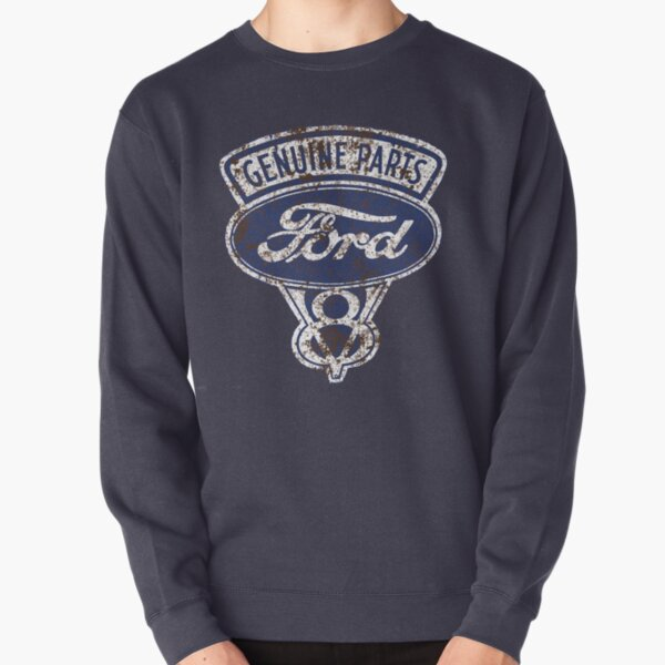 Oil Stained Ford Sign Pullover Sweatshirt