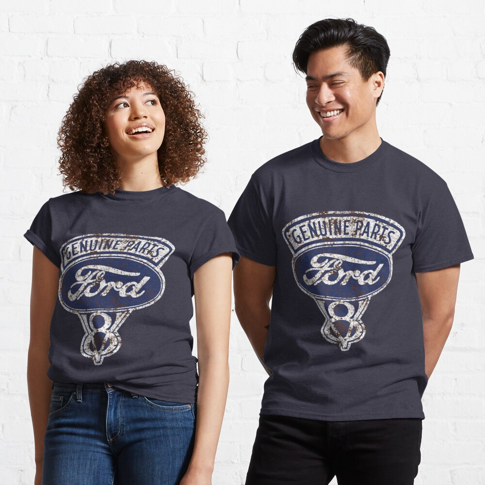 Oil Stained Ford Sign Classic T-Shirt