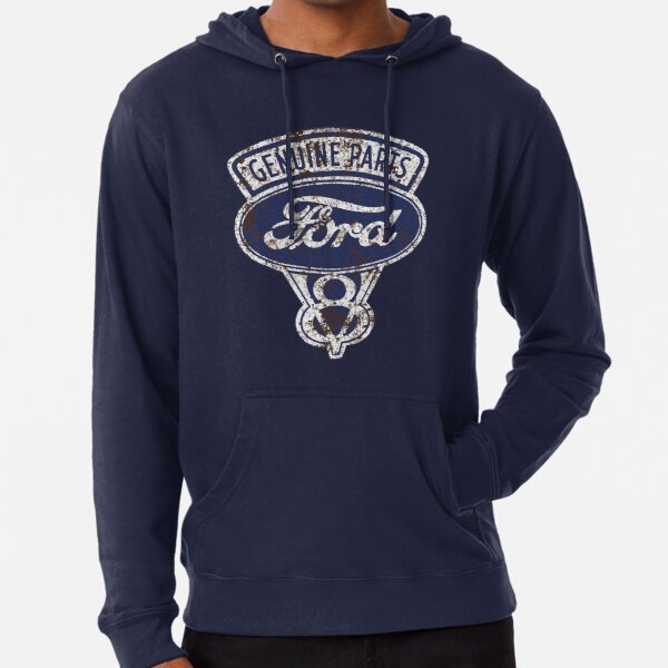 Oil Stained Ford Sign Lightweight Hoodie