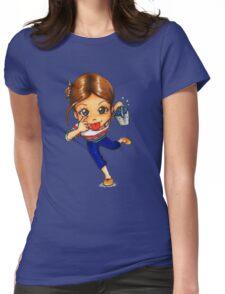 #KissMyALS Womens Fitted T-Shirt