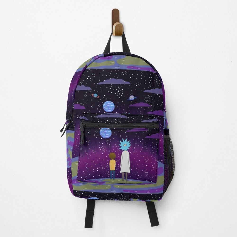 Rick and Morty - Planets Backpack