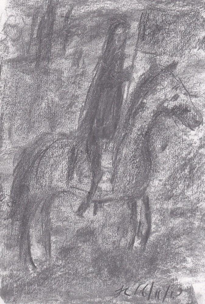 Hidden Horseman by George Coombs