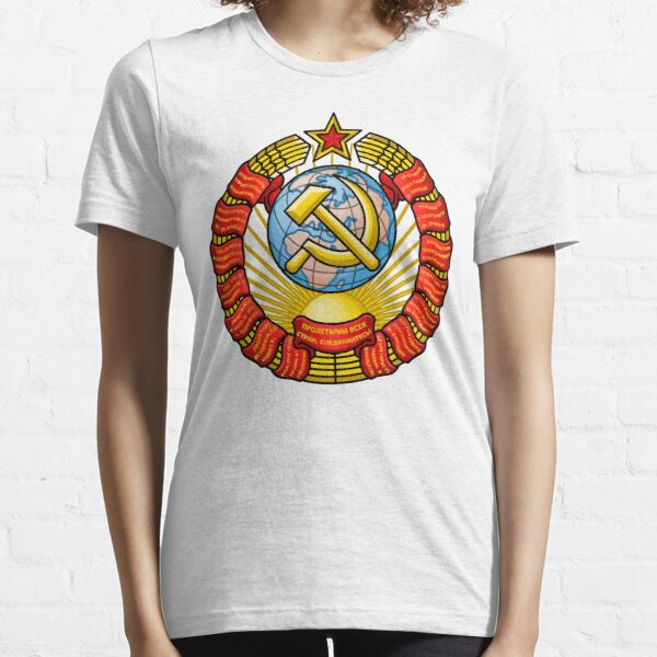 Modified Vectorized State Emblem of the Soviet Union Essential T-Shirt